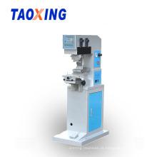 Máquina de impressão oval da almofada do objeto