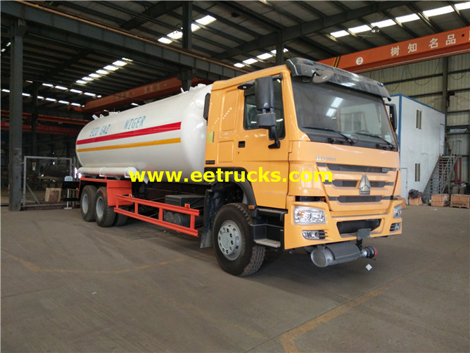 30 M3 Propane Delivery Tanker Vehicles