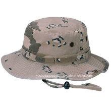Cotton Military Blue Camo Wholesale Bucket Hats