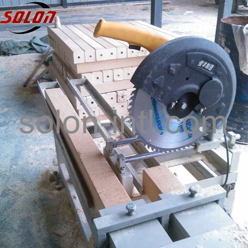 Auotmatic wood block pallet mini wood cutter machine