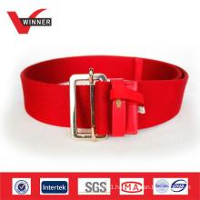 2014 Durable red women's webbing belts