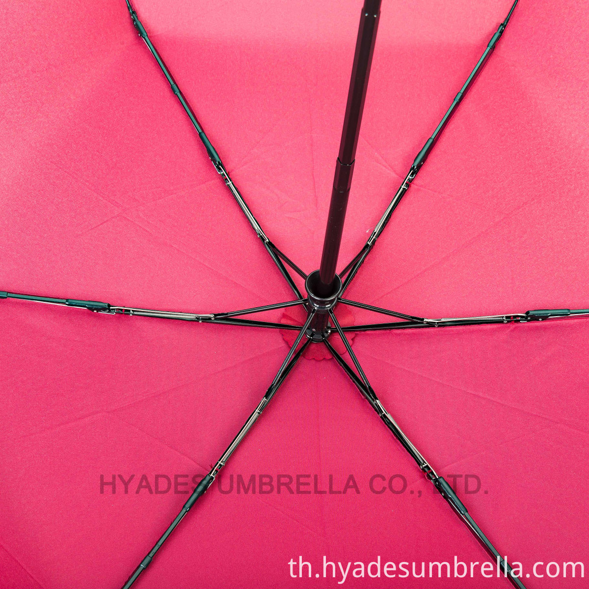 premier quality fiberglass ribs for folding umbrella wine color