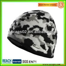 Gorro de punto de hombre Camo sombrero de invierno BN-2645