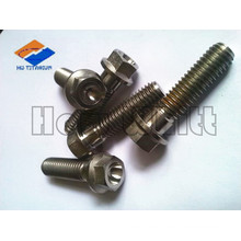 high end titanium hex flange bolts in stock