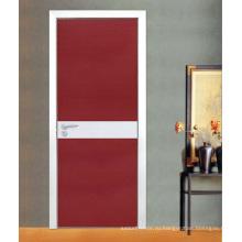 Меламин деревянная дверь (ЖЛ-Е200)