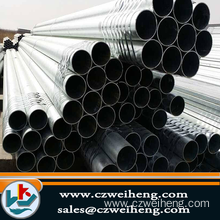 hot dipped galvanized Erw Steel Pipe