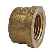 Gunmetal Bronze Threaded Cap