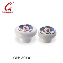 Lovely Ceramic Knob Handles with Micky (CH13910)