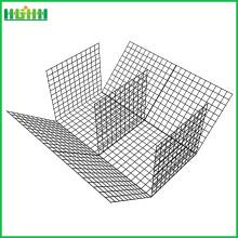 Шестиугольная оцинкованная проволочная сетка в виде габионной коробки Гальванизированная габионная корзина с гексагональной сеткой из курицы для Индии