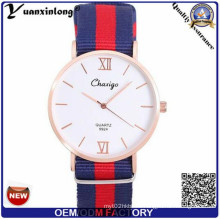 Yxl-527 New Design Slim Untra Thin Nato Bracelet Wrist Watch, Fashion Watch, Quartz Watch