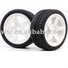 Borracha de pneus de carro de rc, rc bugs pneus, pneus de carros de brinquedo