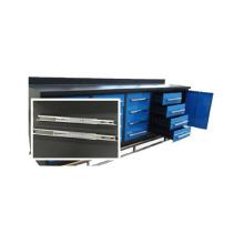 Gabinete de ferramentas de gaveta durável 16 com 1 porta de armário