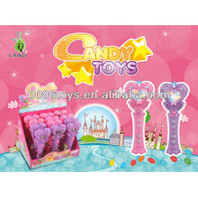 Musical magic wand candy toys