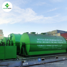 Huayin Plant Disposal from Waste Plastic Oil to Diesel