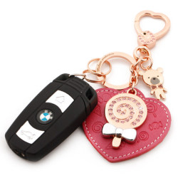 Titanium alloy key chain for men