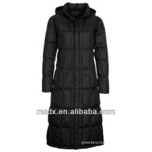 beautiful mature trendy women down jacket