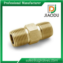wholesale 1/4 10mm Brass Male Copper Pipe Nipple Fittings