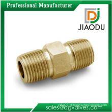 Venda Por Atacado 1/4 10mm bronze macho cobre pipe acessórios mamilo