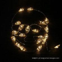 Fio de cobre feericamente operado por bateria de botão Luzes LED para decoração de casamento atacado