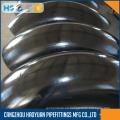 Codo de acero al carbono SCH40 de 90 grados