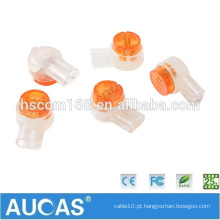Aucas K2 / UY2 Telefone e Rede Cabo / Wire Joint Connector Equivalente a 3M Scotchlok UY2-D Wire Connector