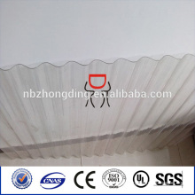 polycarbonate corrugated sheet for roofing with uv