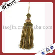 decorative curtain holder hanging small tassels