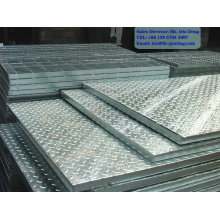 checkered plate steel grating