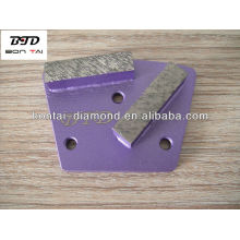 Diamond Rectangular Segmented Grinding Blocks for concrete and terrazzo