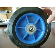 Roda de borracha de 7 * 1.5, borda da roda, roda de roda de borracha