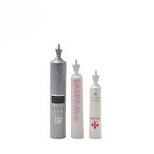 Tubo de plástico de 5 ml para tubo de essência de creme de amostra de cosméticos