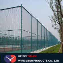 PVC coated iron wire mesh fence