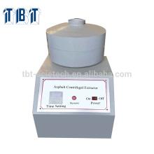 Appareil d'extraction d'asphalte d'extracteur de centrifugeuse d'asphalte de T-BOTA