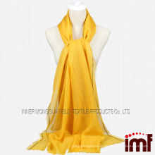 Cashmere Woven Stole Yellow