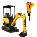 Construction Equipment Mini Backhoe Bucket Excavators Small Diggers For Sale