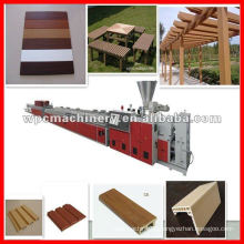 wood plastic machine building siding