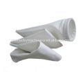 Glass fiber filter bag with ptfe membrane