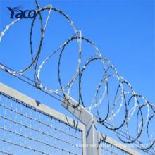 High quality razor barbed wire BTO-22 razor barbed wire