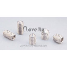 Hexagon Socket Flat Point Cone Set Screw