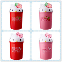 Hello Kitty Head Shaped Living Room Trash Bin (FF-5250)