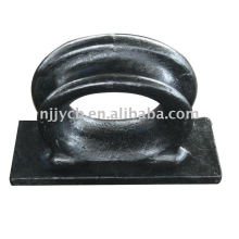 Marine equipment-mooring chock