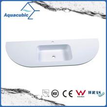 Beautiful New Style Top Bathroom Vanity Polymarble Basin