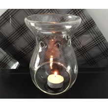 Clear Glass Essential Oil Warmer - 16gc03211