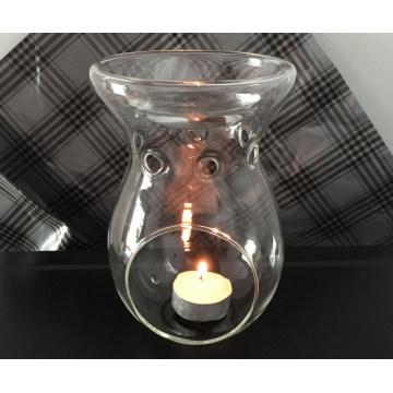 Calentador de aceite esencial de vidrio transparente - 16gc03211