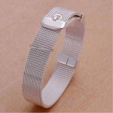 Stainless Steel Creative Network Band Bracelets