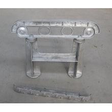 OEM алюминиевого сплава отливки умереть для уличной скамейке дуги-D581