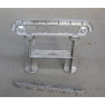 OEM Aluminum Alloy Die Castings for Street Bench Arc-D581