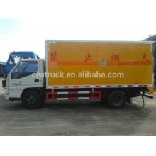 JMC 4X2 fireworks truck for sale,explosive truck