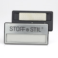 Reusable Metal blank magnetic Name Badge