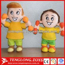 Фабрика оптовой пользовательской плюшевой куклы